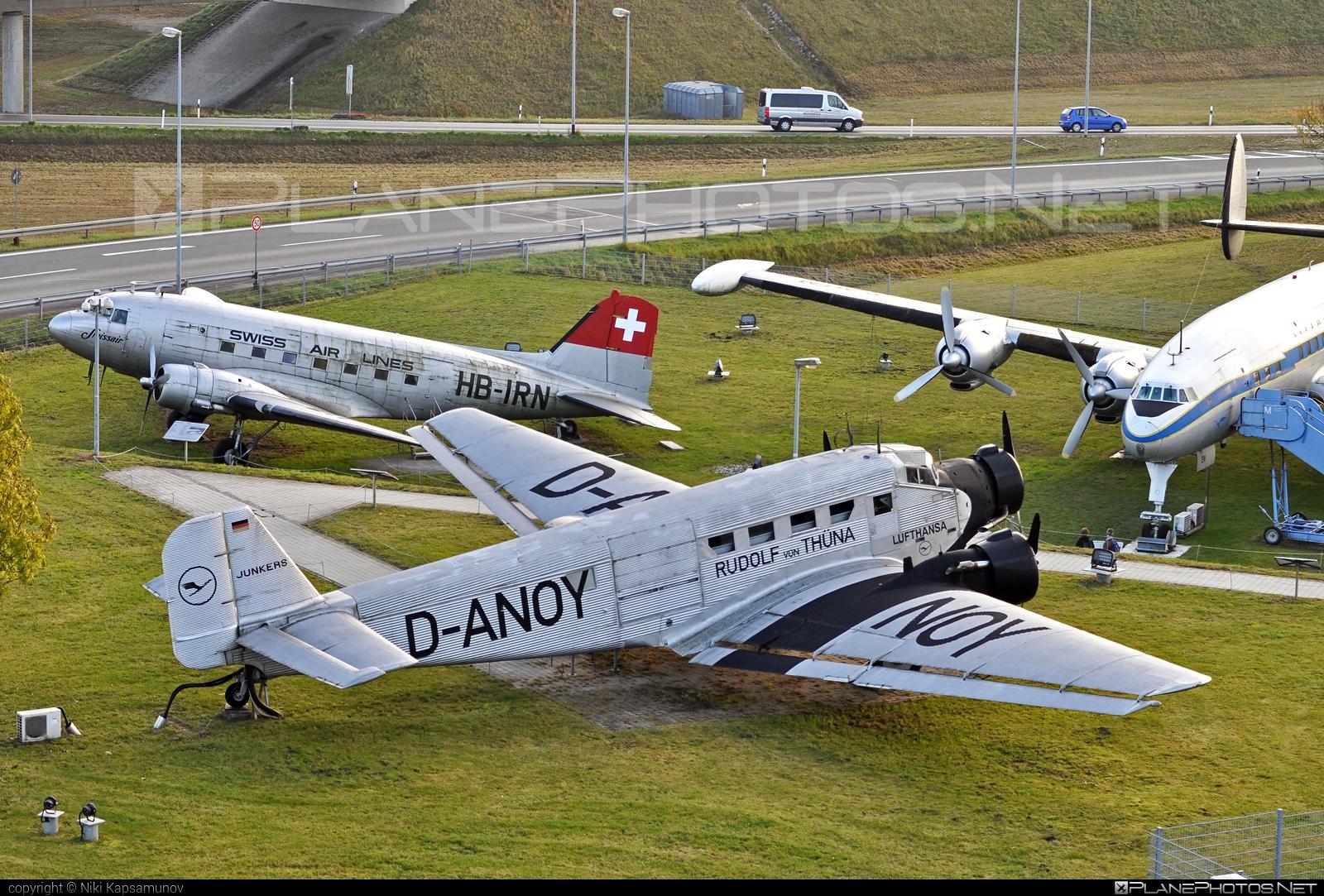 CASA 352L - D-ANOY operated by Lufthansa #casa #casa352 #casa352l #ju52 #junkers52 #junkersju52 #lufthansa
