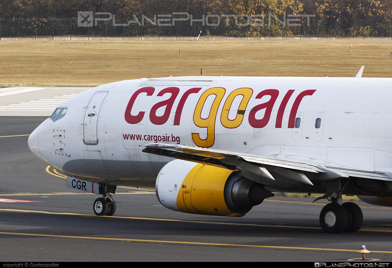 Cargo Air Boeing 737-400SF - LZ-CGR #b737 #b737freighter #b737sf #boeing #boeing737