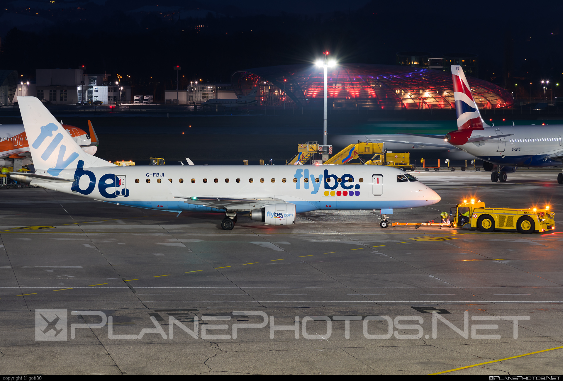 Embraer E175STD (ERJ-170-200STD) - G-FBJI operated by Flybe #e175 #embraer #embraer175 #embraer175std #erj170200 #erj170200std #erj175 #erj175std