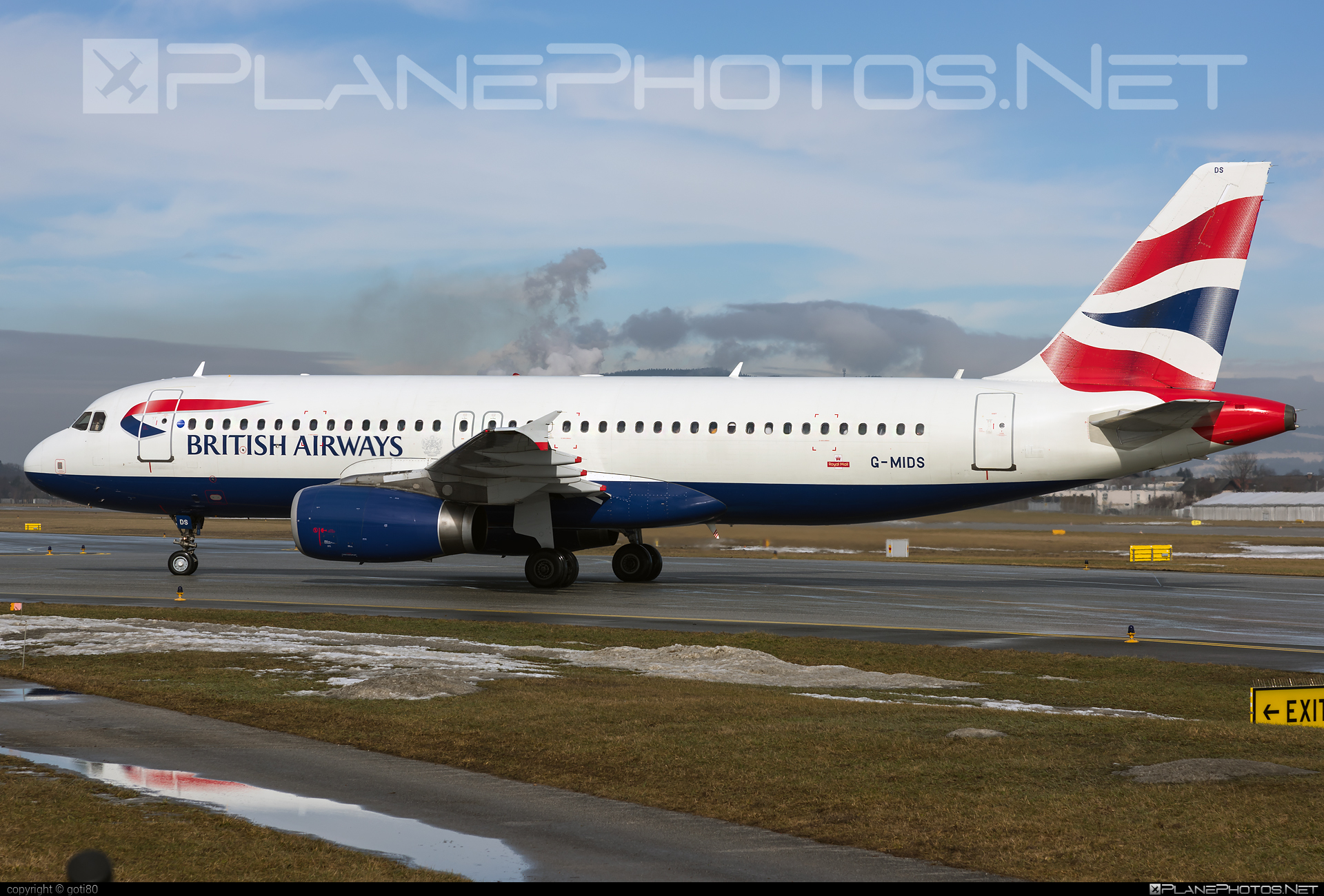 Airbus A320-232 - G-MIDS operated by British Airways #a320 #a320family #airbus #airbus320 #britishairways