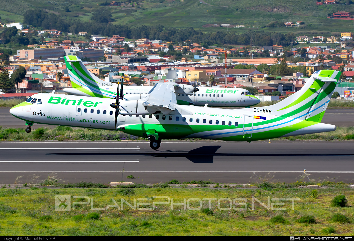 ATR 72-600 - EC-MMM operated by Binter Canarias #atr