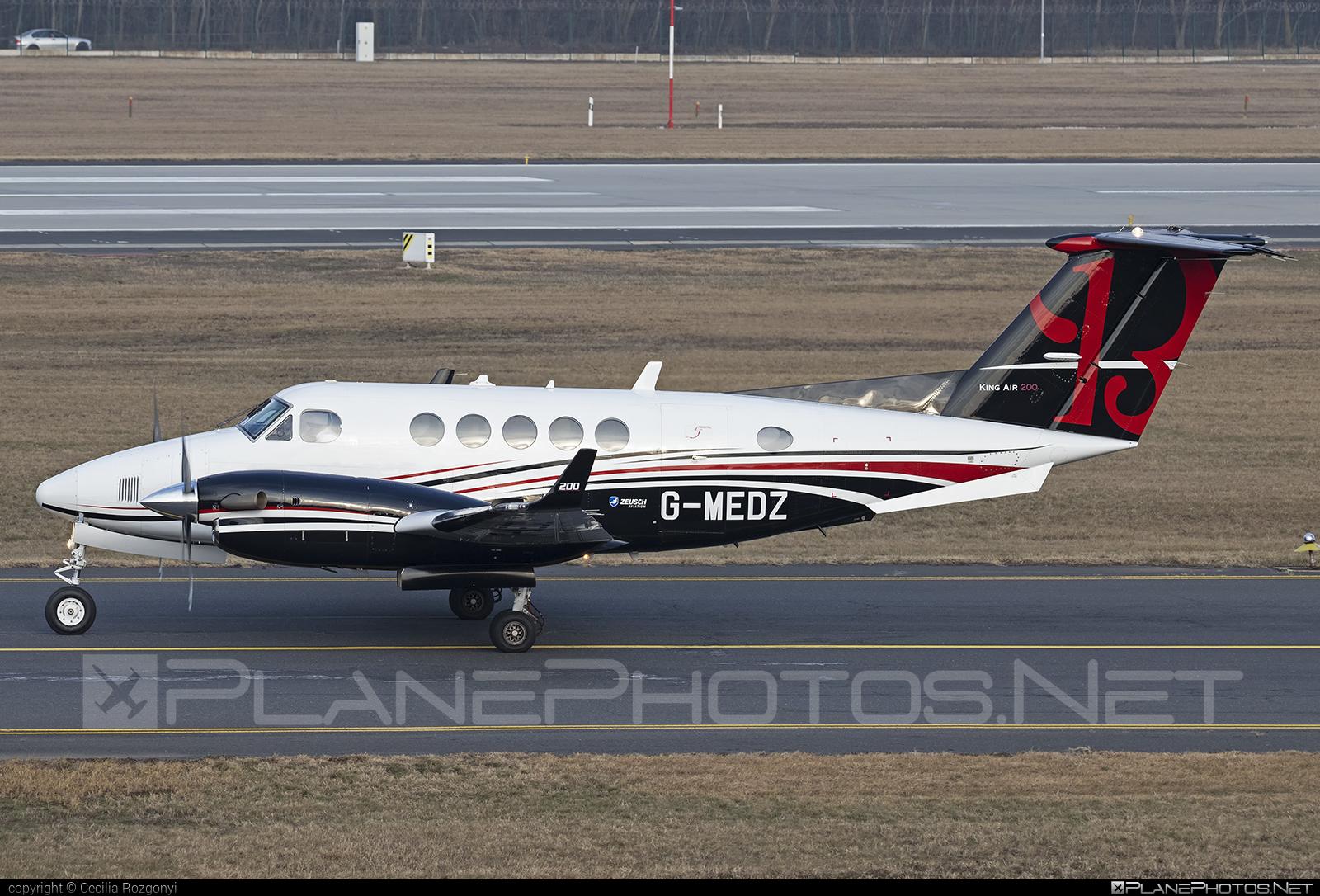 Zeusch Aviation Beechcraft King Air 200 - G-MEDZ #beechb200 #beechcraft #beechcraftb200 #kingair #kingair200 #zeuschaviation