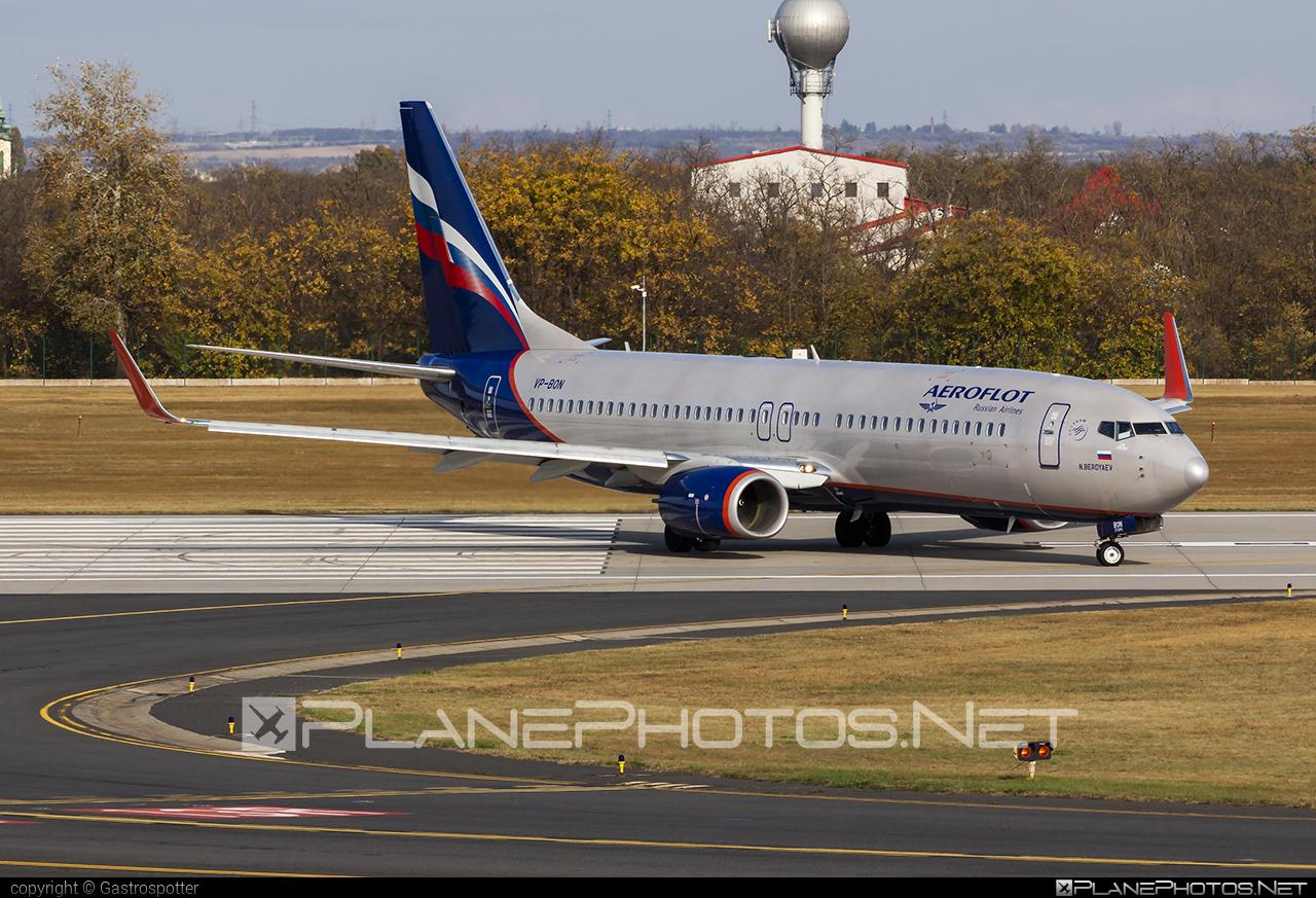 Aeroflot Boeing 737-800 - VP-BON #aeroflot #b737 #b737nextgen #b737ng #boeing #boeing737