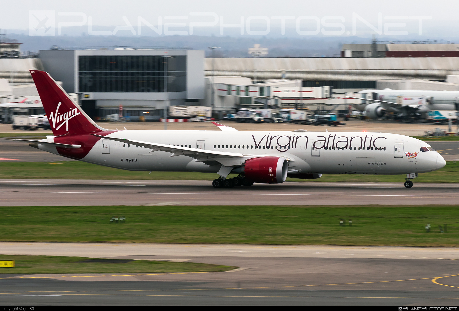 Boeing 787-9 Dreamliner - G-VWHO operated by Virgin Atlantic Airways #b787 #boeing #boeing787 #dreamliner #virginatlantic #virginatlanticairways