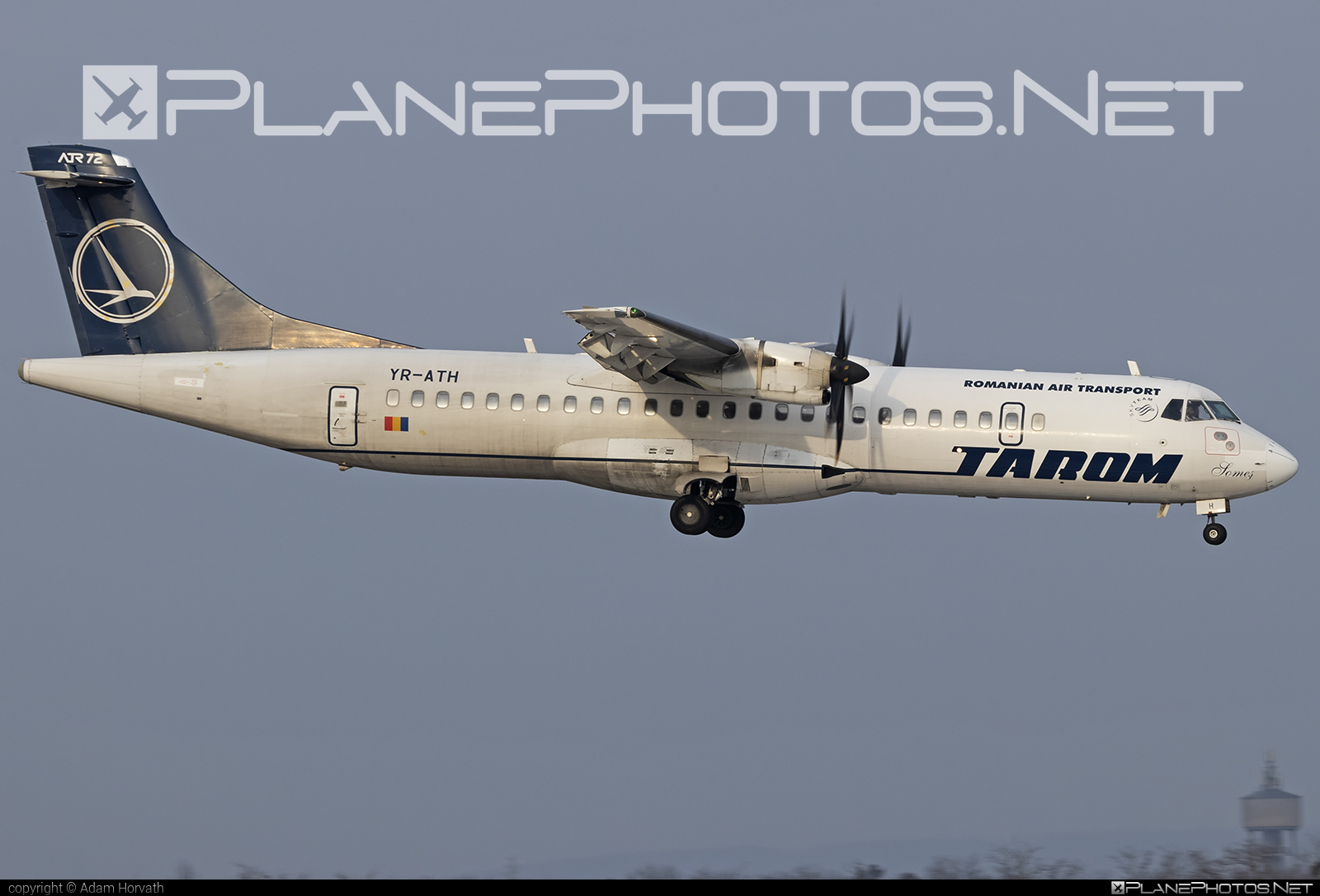 ATR 72-212A - YR-ATH operated by Tarom #atr