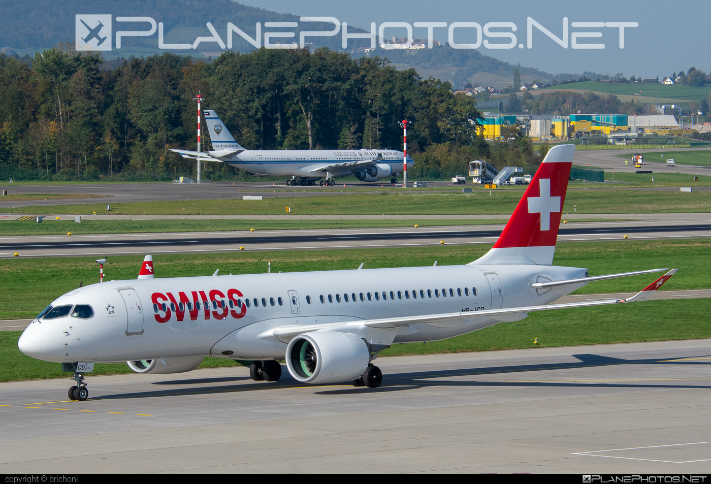 Swiss International Air Lines Bombardier BD-500-1A11 C Series CS300 - HB-JCD #bombardier #cs300 #cseries #cseries300 #swiss #swissairlines