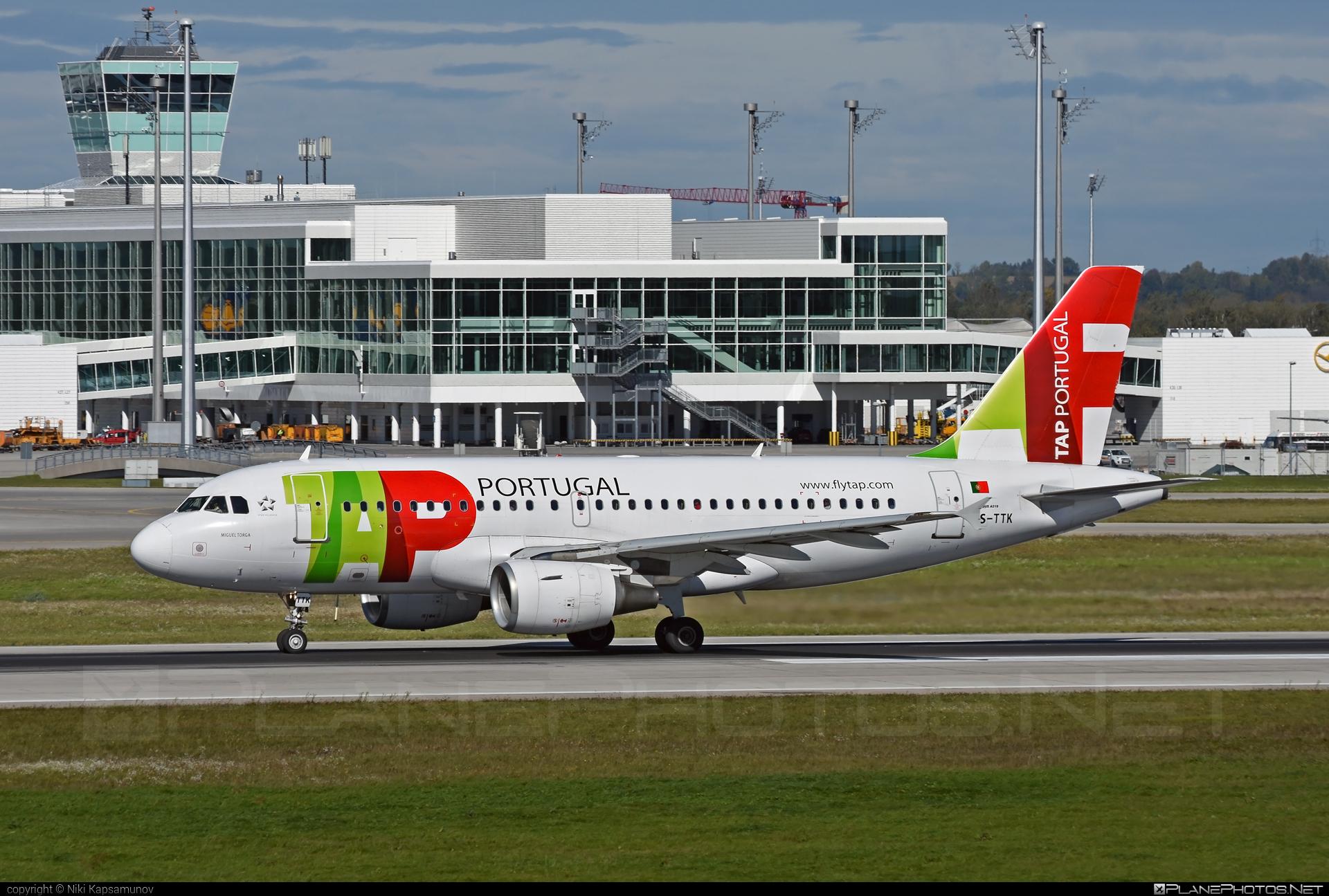 TAP Portugal Airbus A319-111 - CS-TTK #a319 #a320family #airbus #airbus319