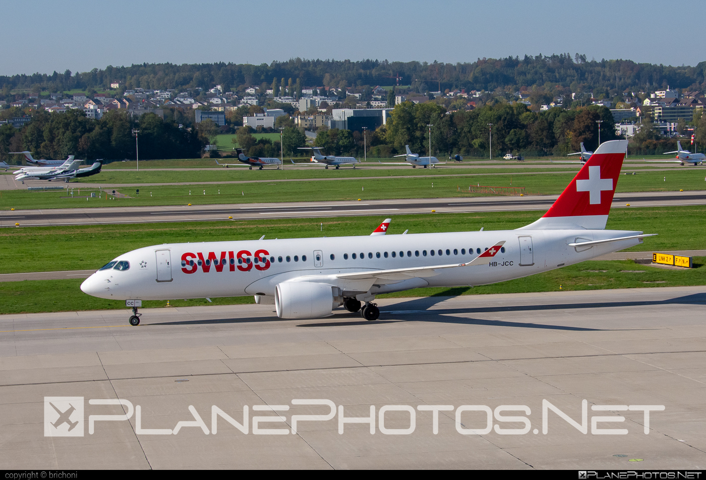 Bombardier BD-500-1A11 C Series CS300 - HB-JCC operated by Swiss International Air Lines #bombardier #cs300 #cseries #cseries300 #swiss #swissairlines