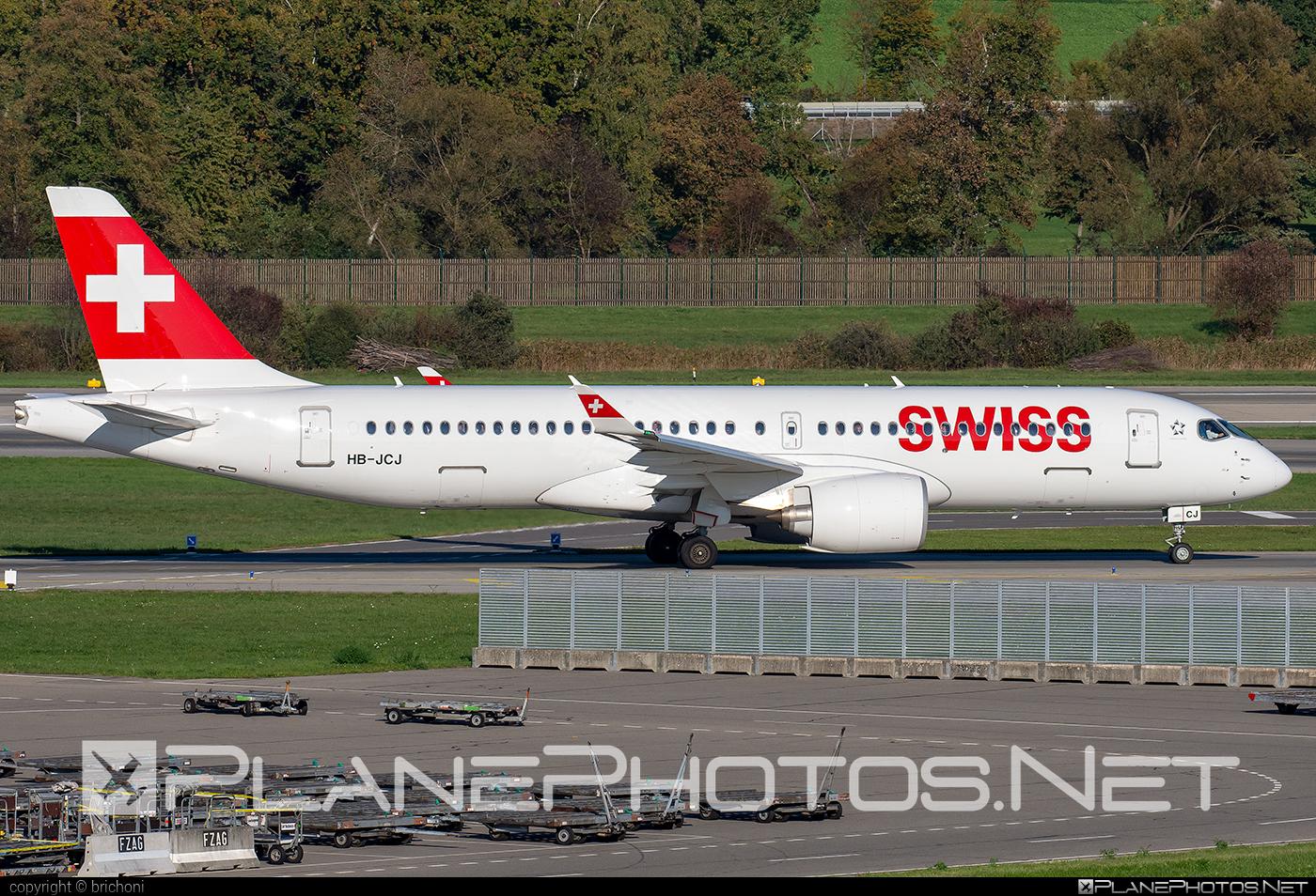Swissair Airbus A220-300 - HB-JCJ #a220300 #a220family #airbus #cs300 #cseries #cseries300 #swissair