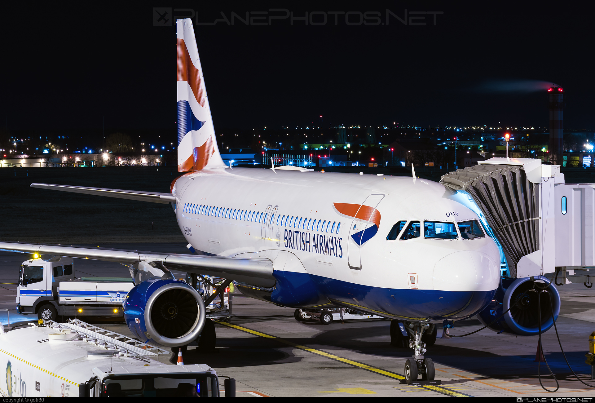 British Airways Airbus A320-232 - G-EUUY #a320 #a320family #airbus #airbus320 #britishairways