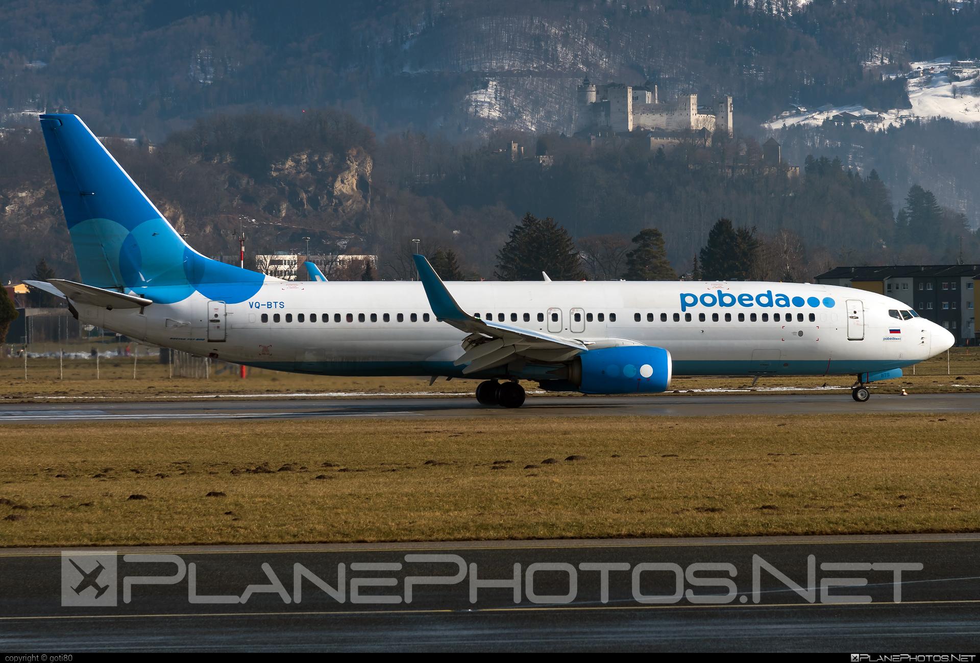 Pobeda Boeing 737-800 - VQ-BTS #b737 #b737nextgen #b737ng #boeing #boeing737
