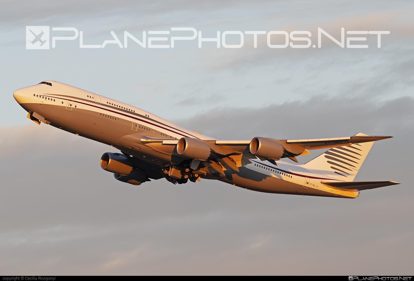 Boeing 747-8 - A7-HBJ operated by Qatar Amiri Flight #b747 #boeing #boeing747 #jumbo #qataramiriflight