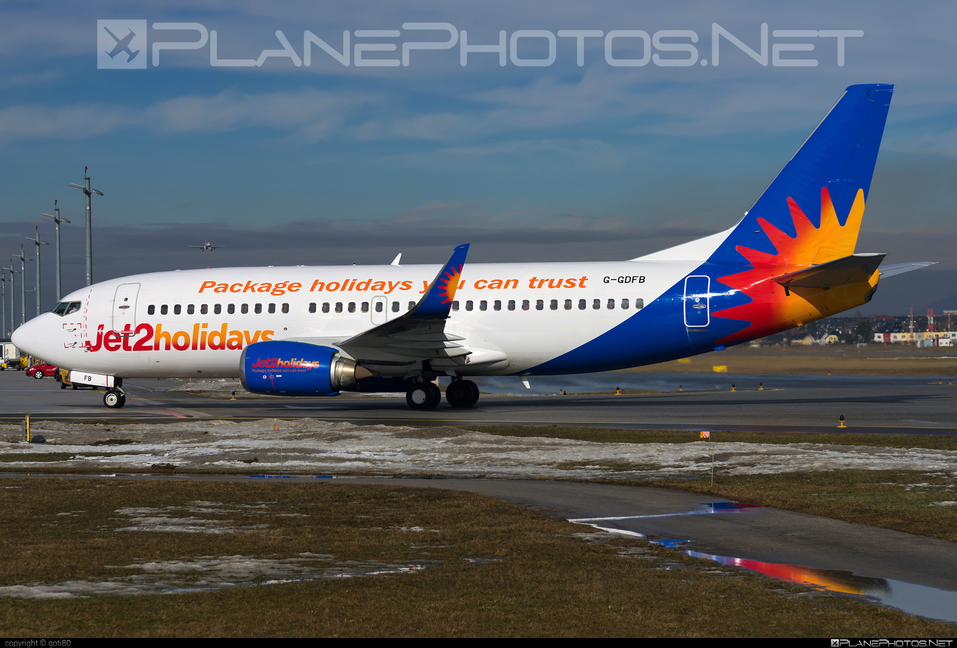 Boeing 737-300 - G-GDFB operated by Jet2 #b737 #boeing #boeing737 #jet2