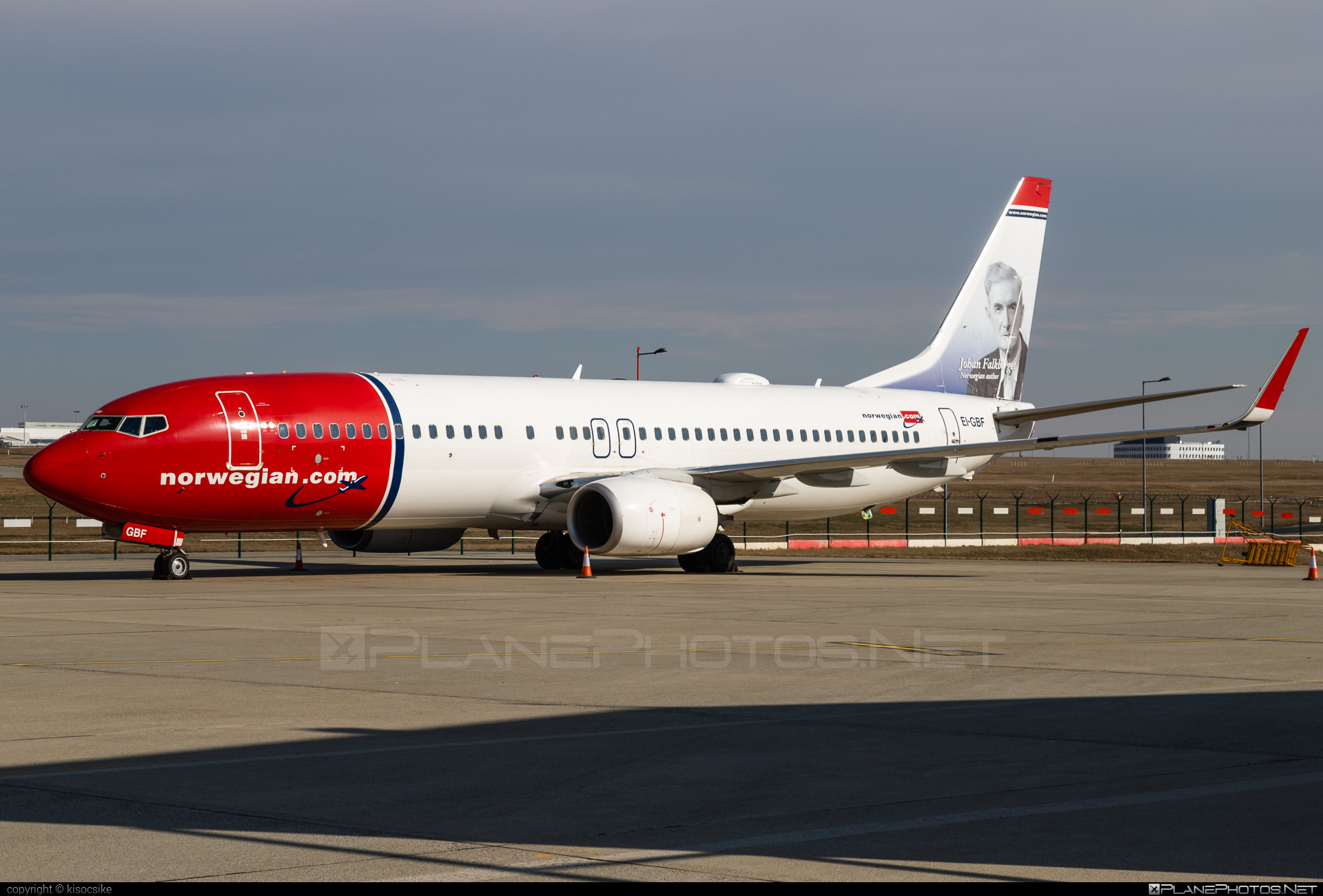 Boeing 737-800 - EI-GBF operated by Norwegian Air International #b737 #b737nextgen #b737ng #boeing #boeing737 #norwegian #norwegianair #norwegianairinternational