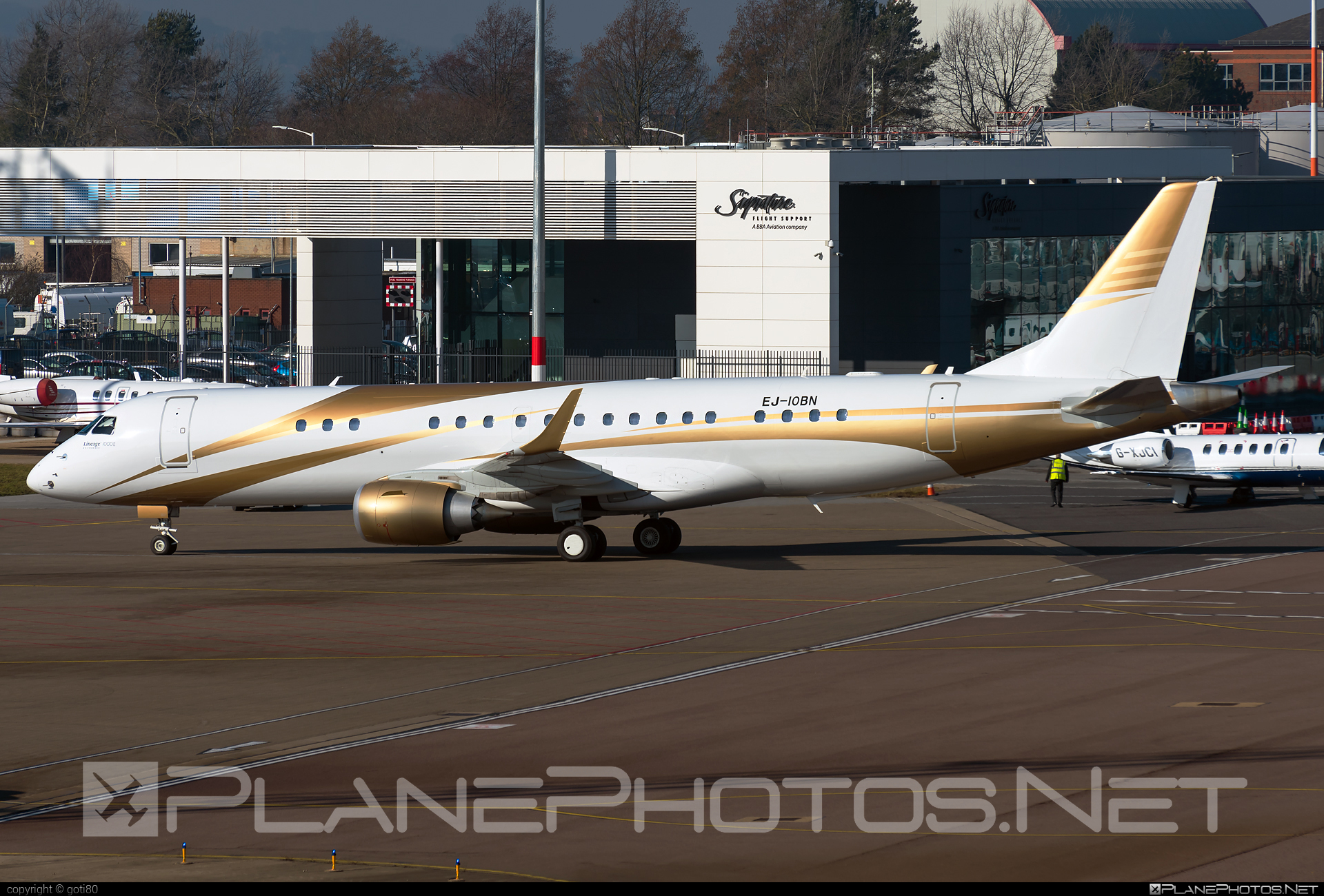 Embraer Lineage 1000 - EJ-IOBN operated by GainJet Ireland #embraer #embraerlineage #embraerlineage1000 #gainjet #gainjetireland #lineage1000