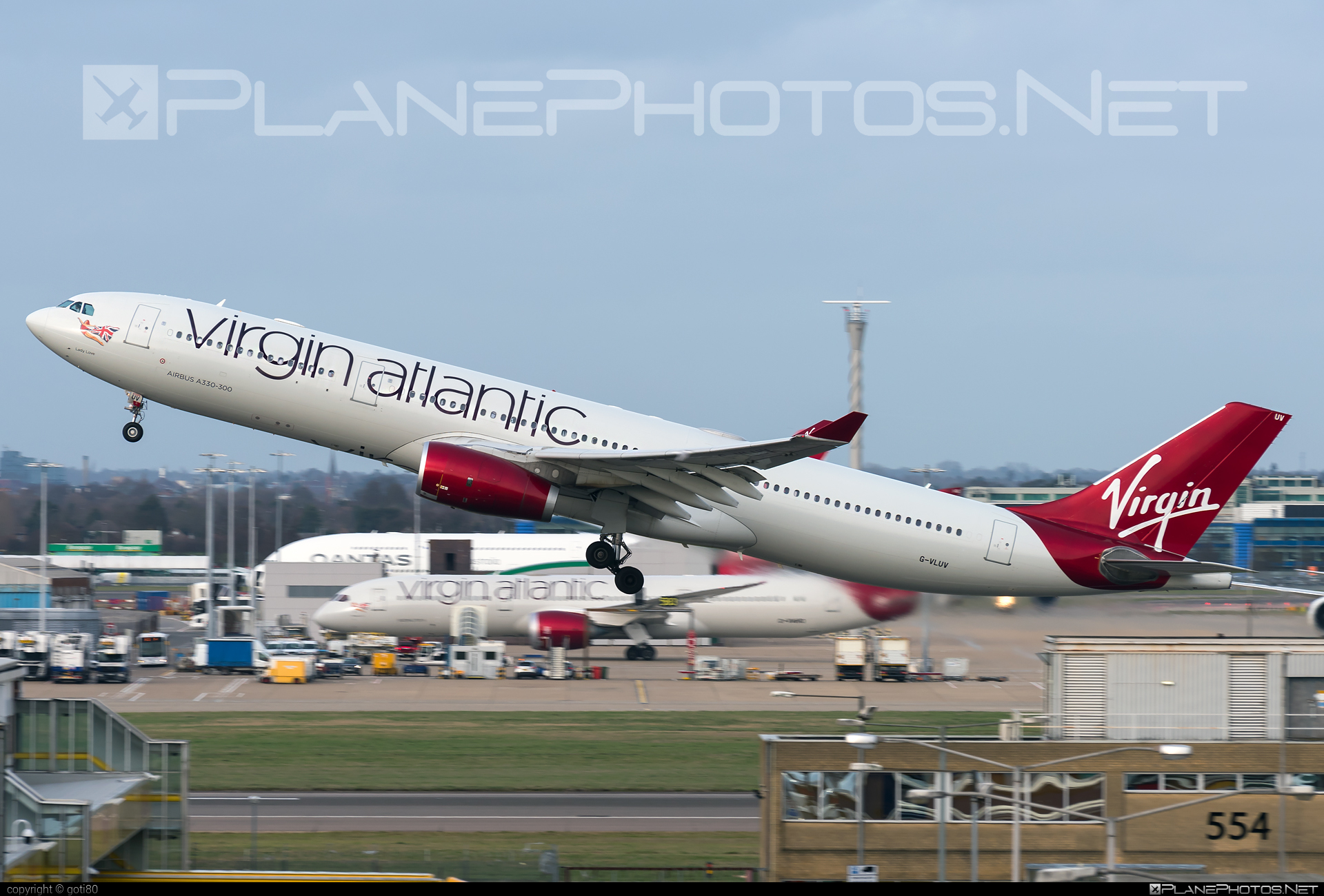 Airbus A330-343 - G-VLUV operated by Virgin Atlantic Airways #a330 #a330family #airbus #airbus330 #virginatlantic #virginatlanticairways