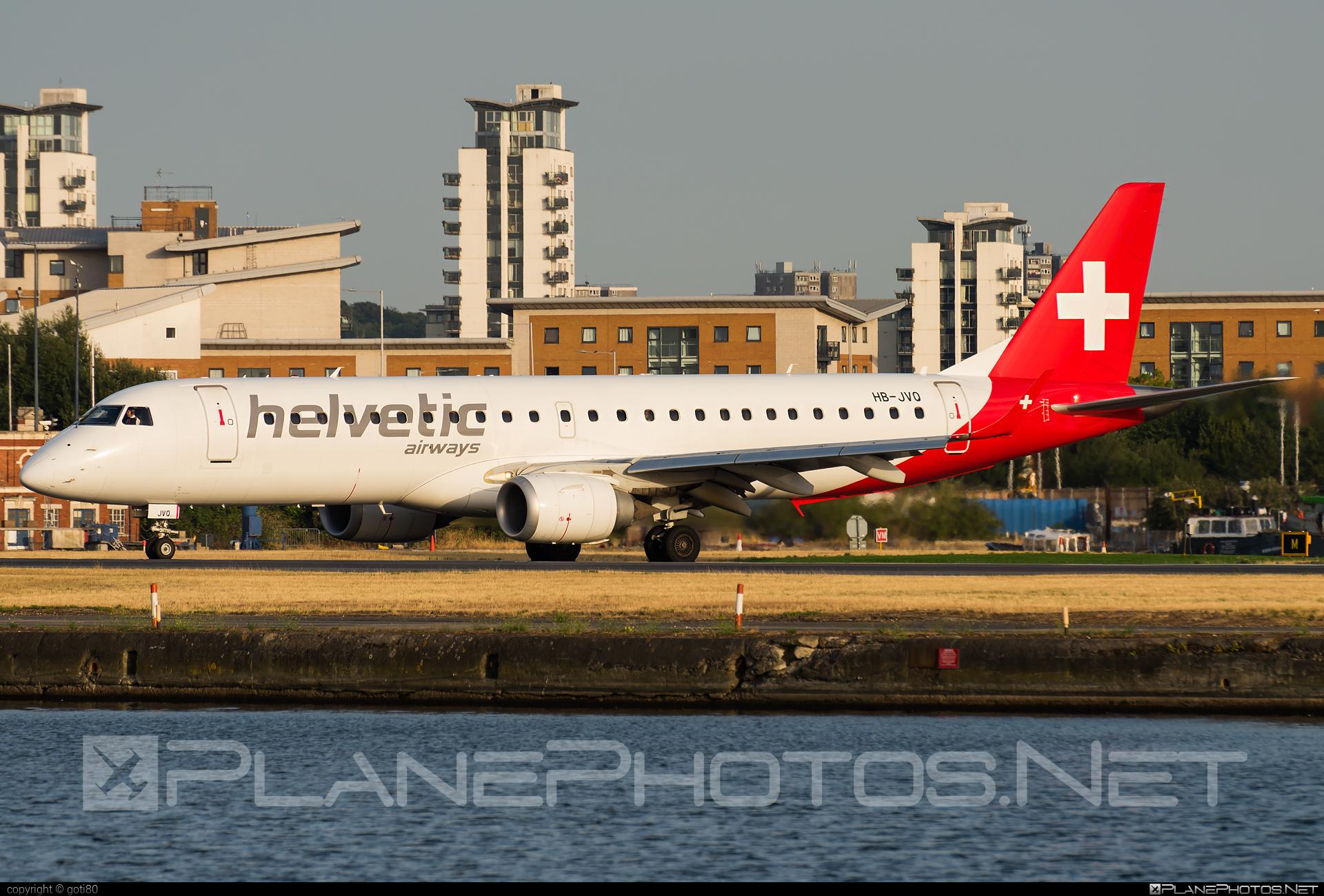 Embraer 190-100LR - HB-JVO operated by Helvetic Airways #e190 #embraer #embraer190 #embraer190lr