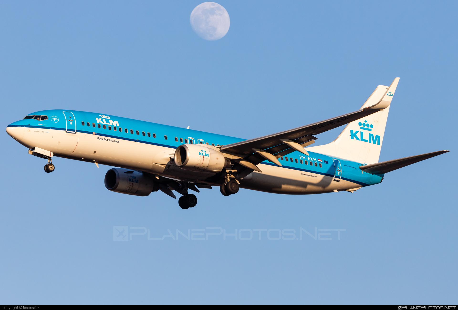 Boeing 737-800 - PH-BXM operated by KLM Royal Dutch Airlines #b737 #b737nextgen #b737ng #boeing #boeing737 #klm #klmroyaldutchairlines #royaldutchairlines