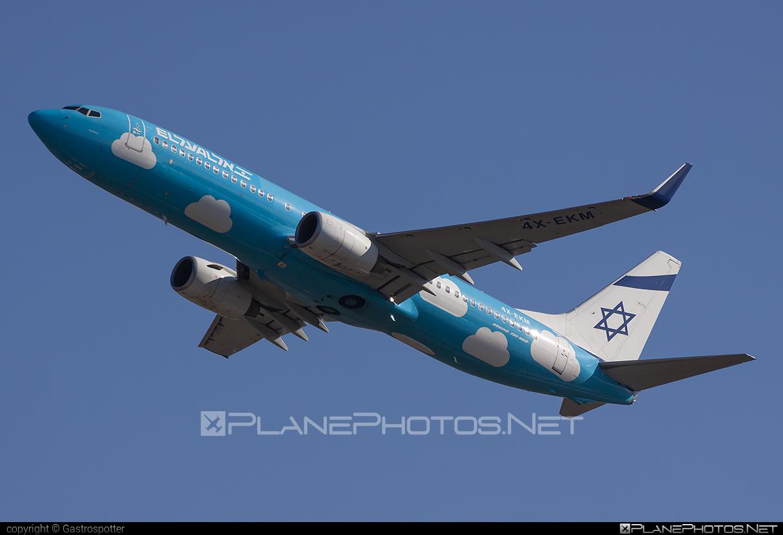 Boeing 737-800 - 4X-EKM operated by UP #b737 #b737nextgen #b737ng #boeing #boeing737