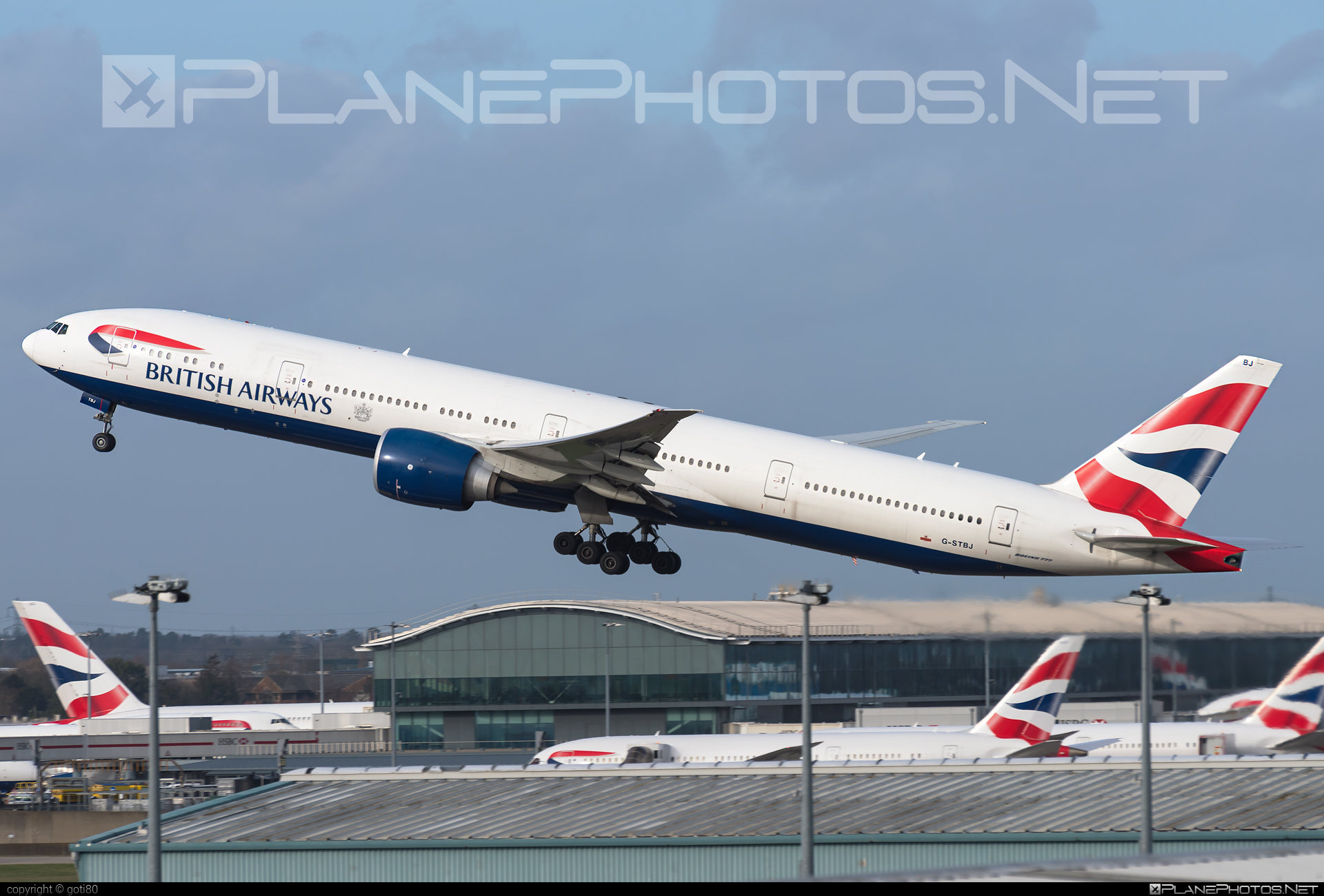 Boeing 777-300ER - G-STBJ operated by British Airways #b777 #b777er #boeing #boeing777 #britishairways #tripleseven