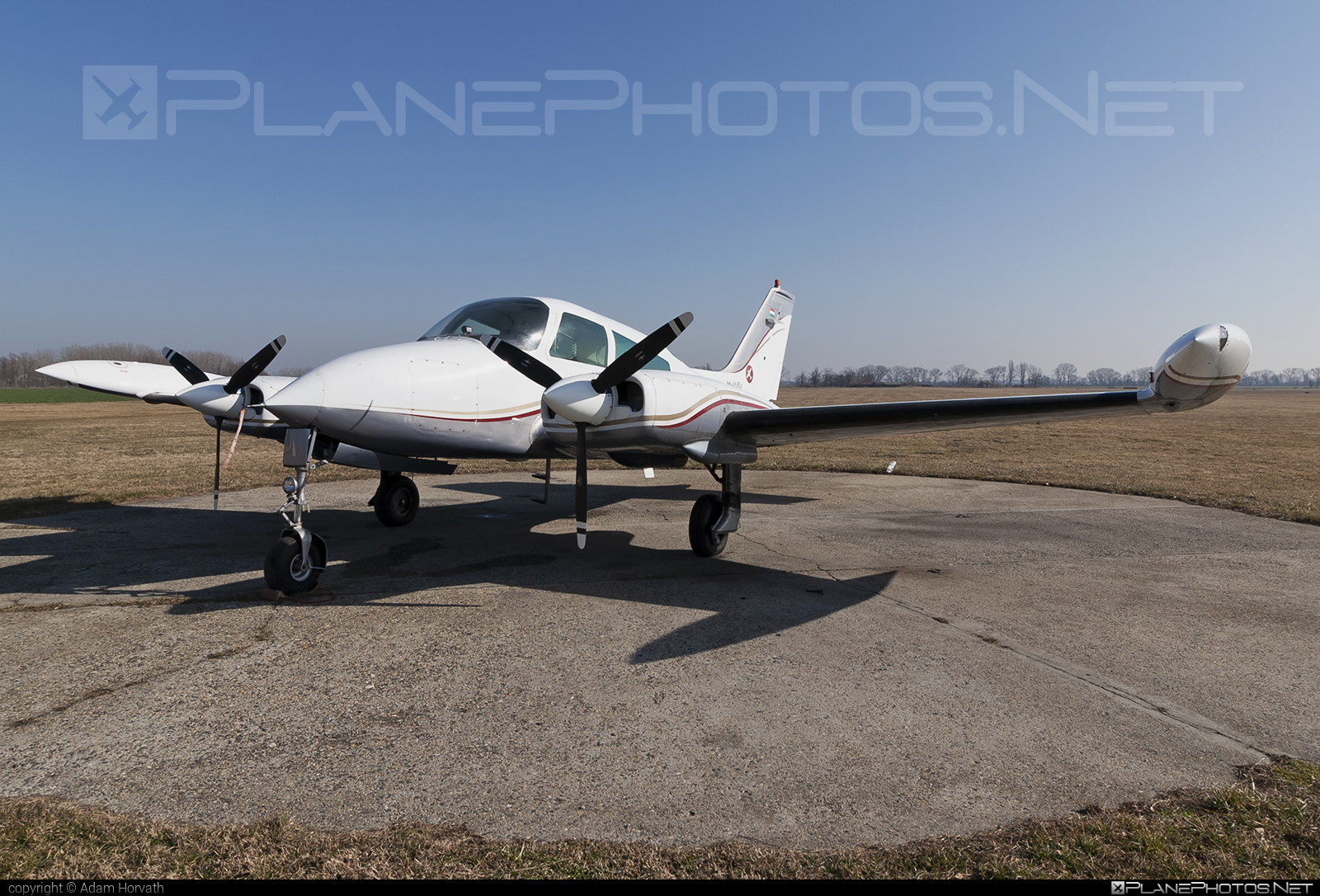 Cessna 310Q - HA-EAB operated by Multifly Kft. #cessna #multifly #multiflykft