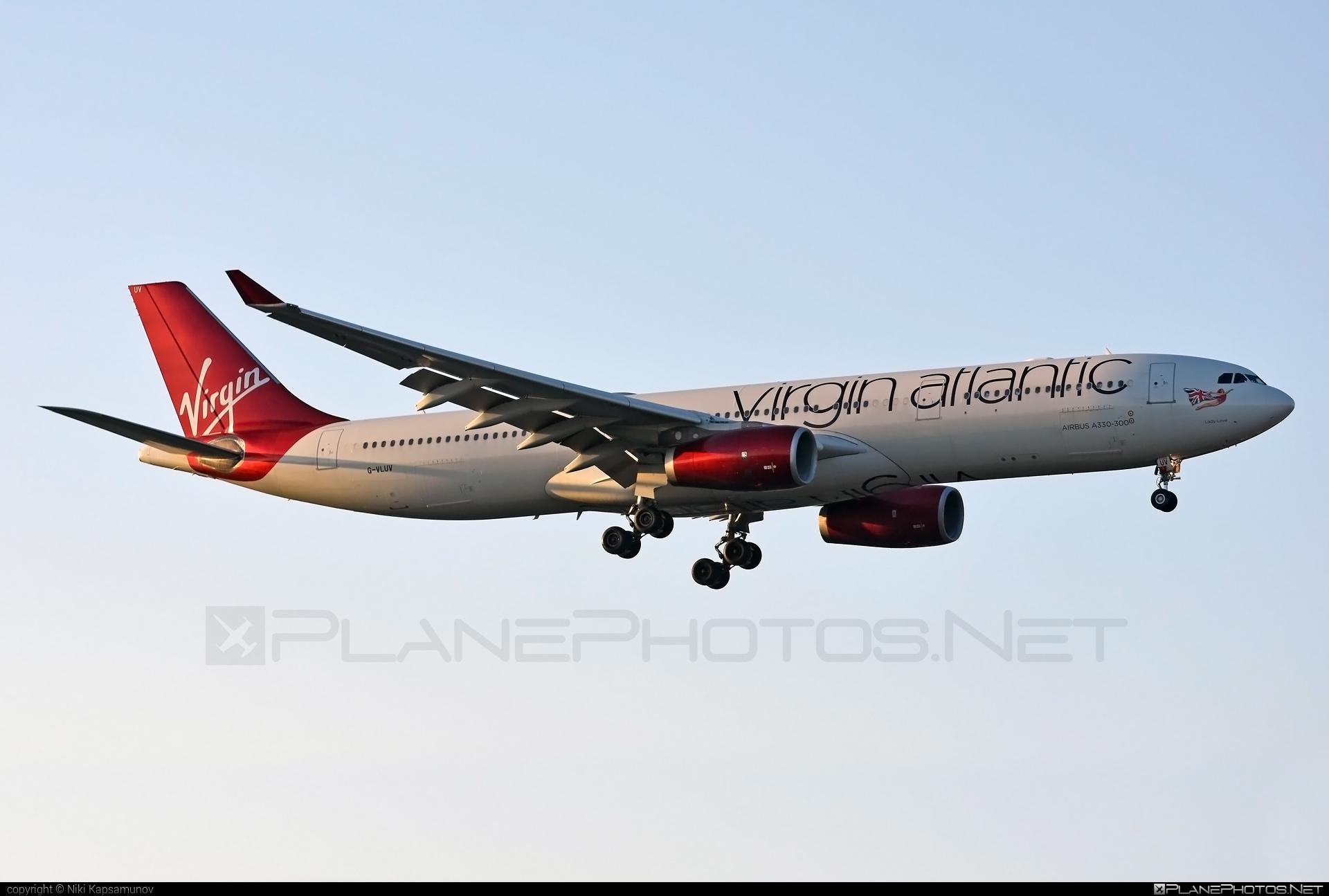 Virgin Atlantic Airways Airbus A330-343 - G-VLUV #a330 #a330family #airbus #airbus330 #virginatlantic #virginatlanticairways