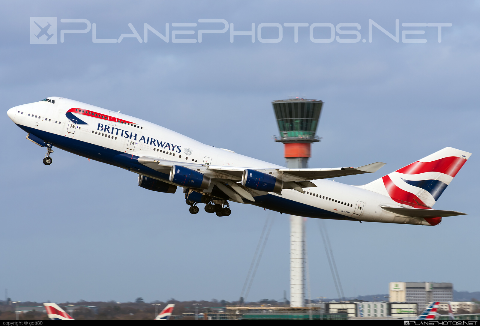 Boeing 747-400 - G-CIVR operated by British Airways #b747 #boeing #boeing747 #britishairways #jumbo