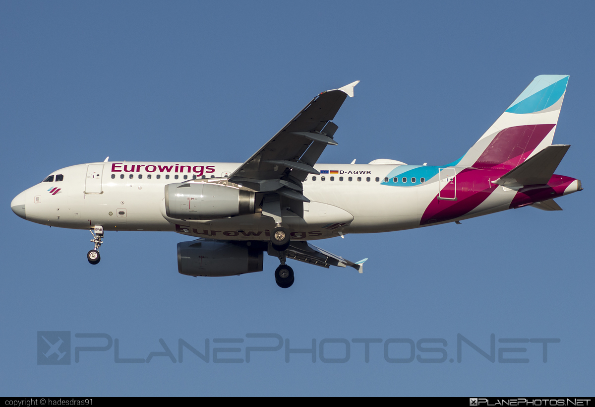 Airbus A319-132 - D-AGWB operated by Eurowings #a319 #a320family #airbus #airbus319 #eurowings