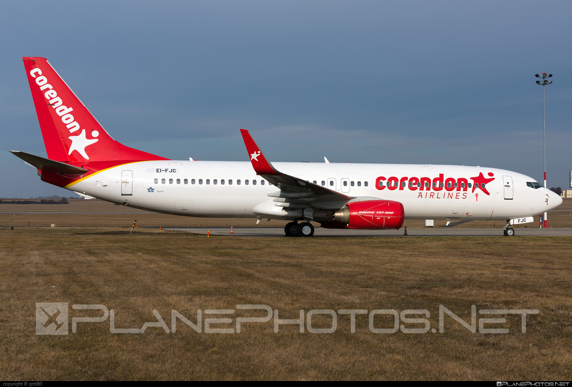 Boeing 737-800 - EI-FJC operated by Corendon Airlines #b737 #b737nextgen #b737ng #boeing #boeing737