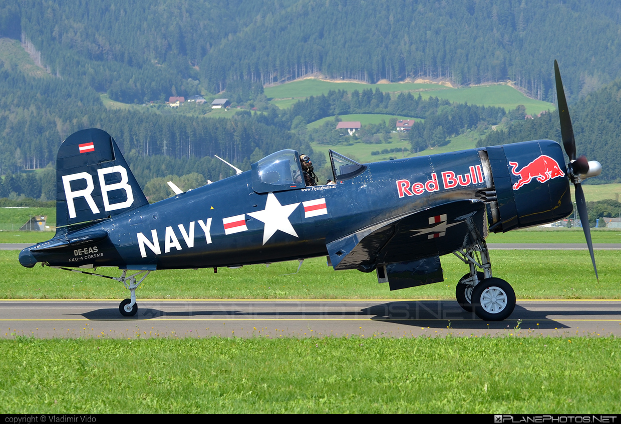 Vought F4U-4 Corsair - OE-EAS operated by The Flying Bulls #airpower2016 #corsair #theflyingbulls #vought