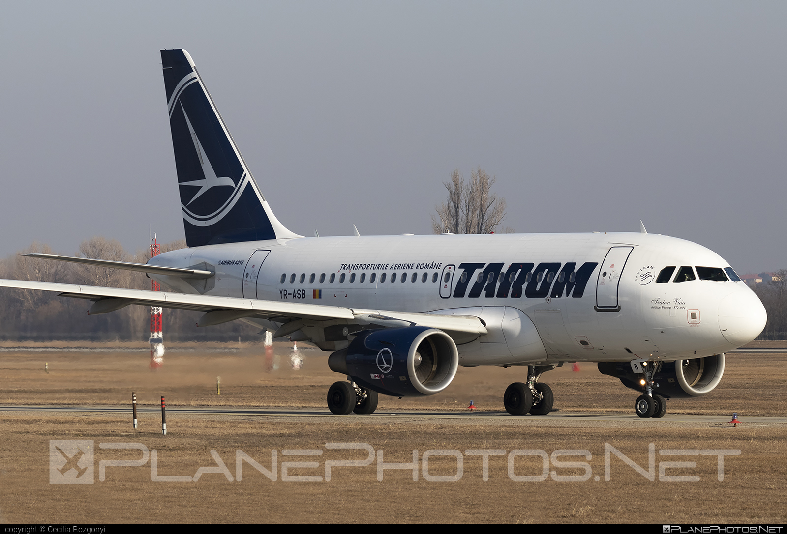 Airbus A318-111 - YR-ASB operated by Tarom #a318 #a320family #airbus #airbus318