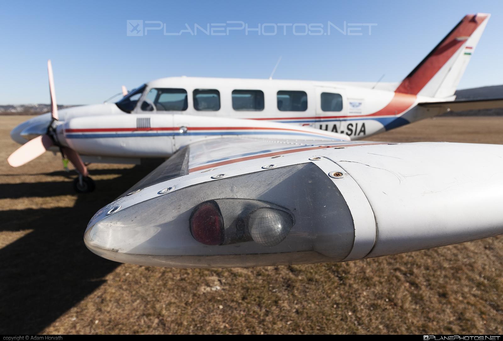 Piper PA-31-350 Chieftain - HA-SIA operated by Private operator #pa31350 #pa31350chieftain #piper #piper31 #piper31chieftain #piper31navajo