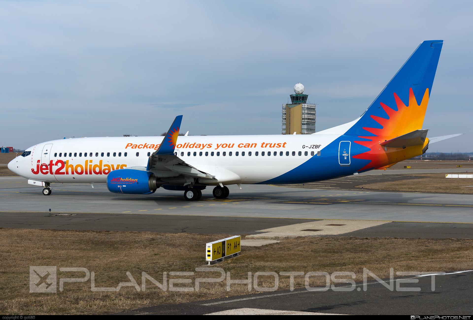 Boeing 737-800 - G-JZBF operated by Jet2 #b737 #b737nextgen #b737ng #boeing #boeing737 #jet2
