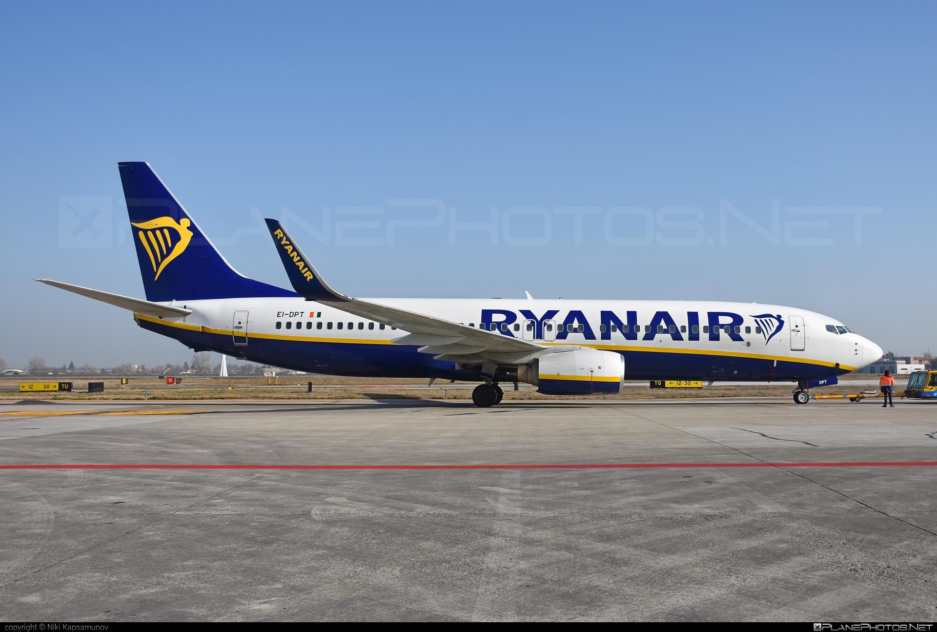 Boeing 737-800 - EI-DPT operated by Ryanair #b737 #b737nextgen #b737ng #boeing #boeing737 #ryanair