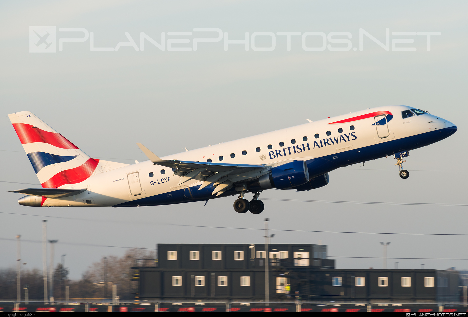 Embraer 170-100STD - G-LCYF operated by BA CityFlyer #embraer