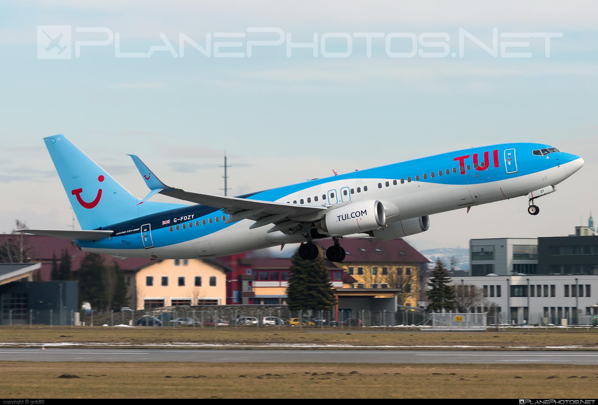 Boeing 737-800 - G-FDZY operated by TUIfly #b737 #b737nextgen #b737ng #boeing #boeing737 #tui #tuifly