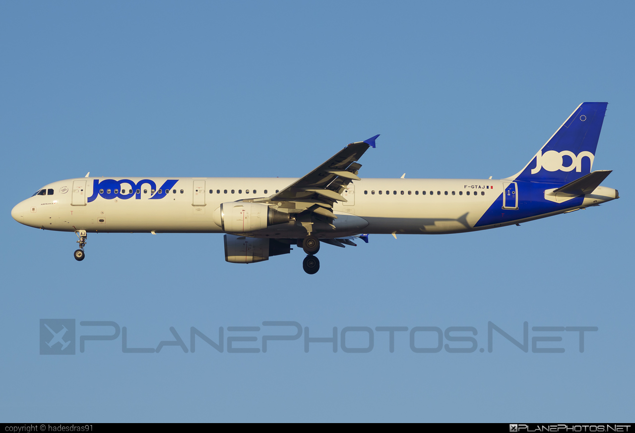 Airbus A321-212 - F-GTAJ operated by Joon #a320family #a321 #airbus #airbus321 #joon