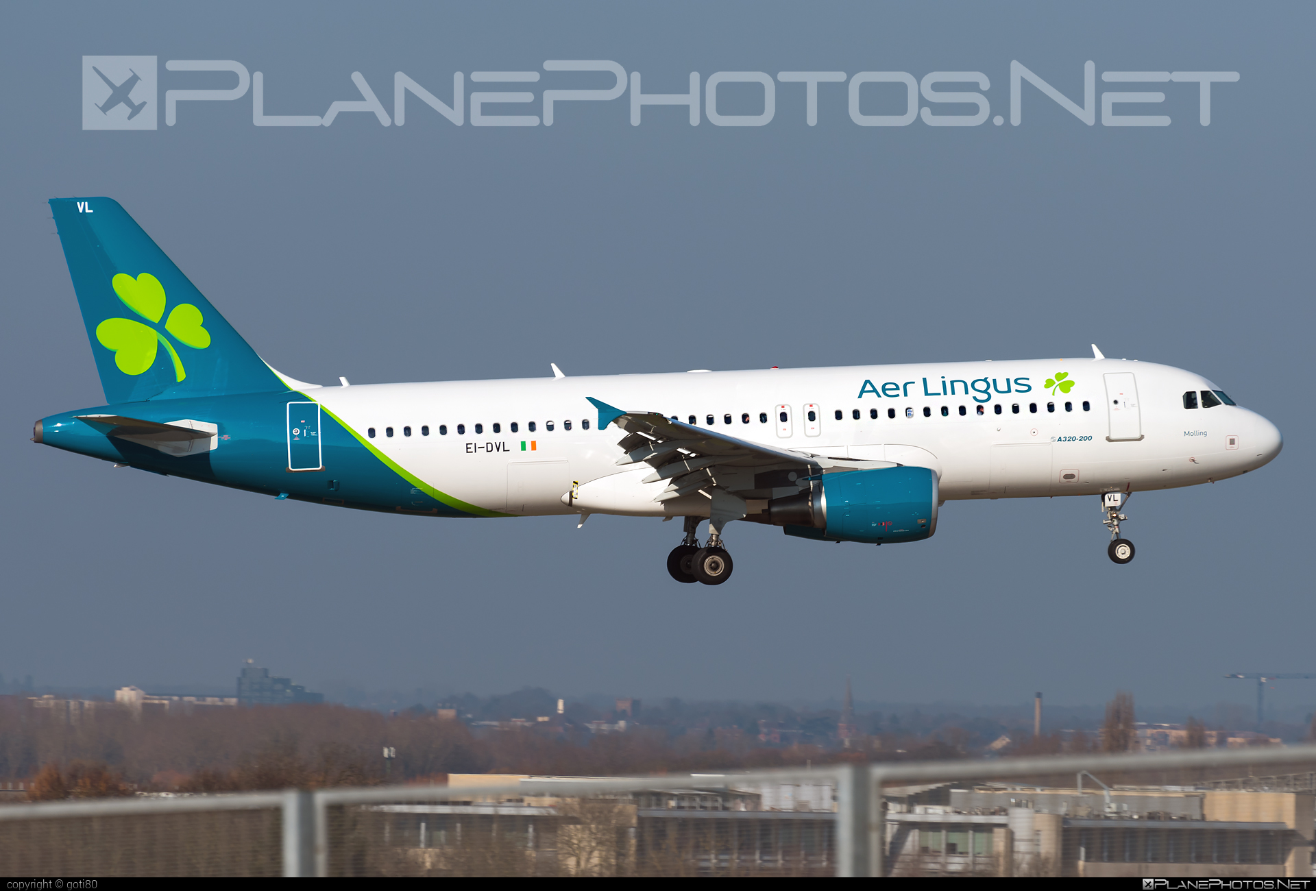 Airbus A320-214 - EI-DVL operated by Aer Lingus #a320 #a320family #aerlingus #airbus #airbus320