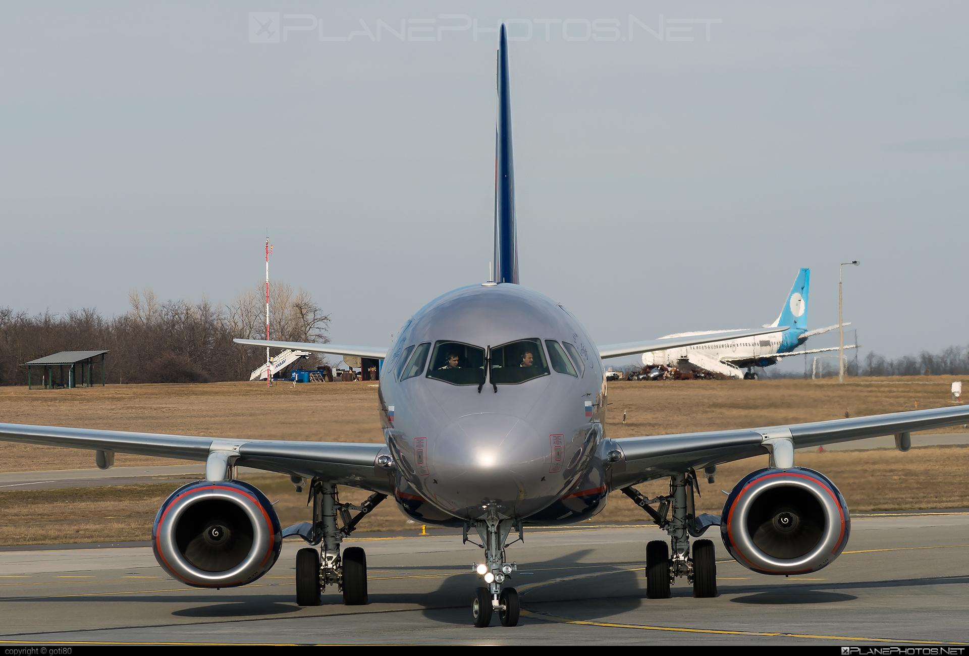 Sukhoi SSJ 100-95B Superjet - RA-89108 operated by Aeroflot #aeroflot #ssj100 #ssj10095b #sukhoi #sukhoisuperjet #superjet