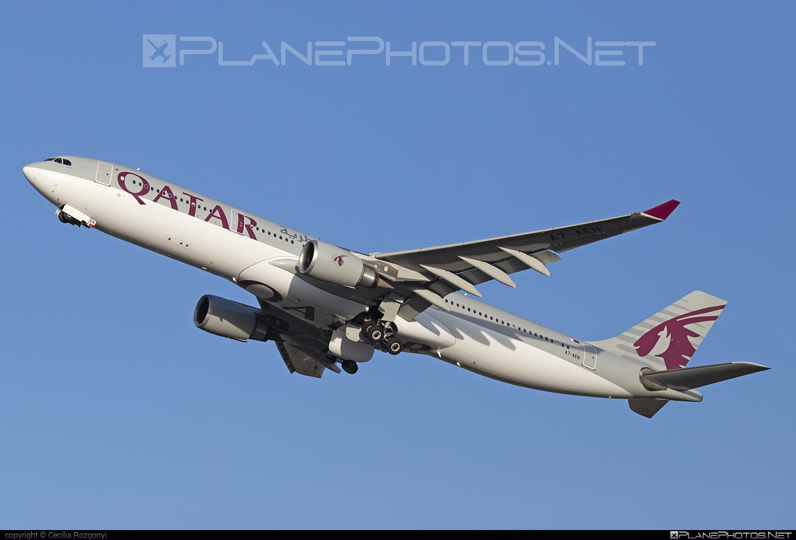 Airbus A330-302 - A7-AEN operated by Qatar Airways #a330 #a330family #airbus #airbus330 #qatarairways