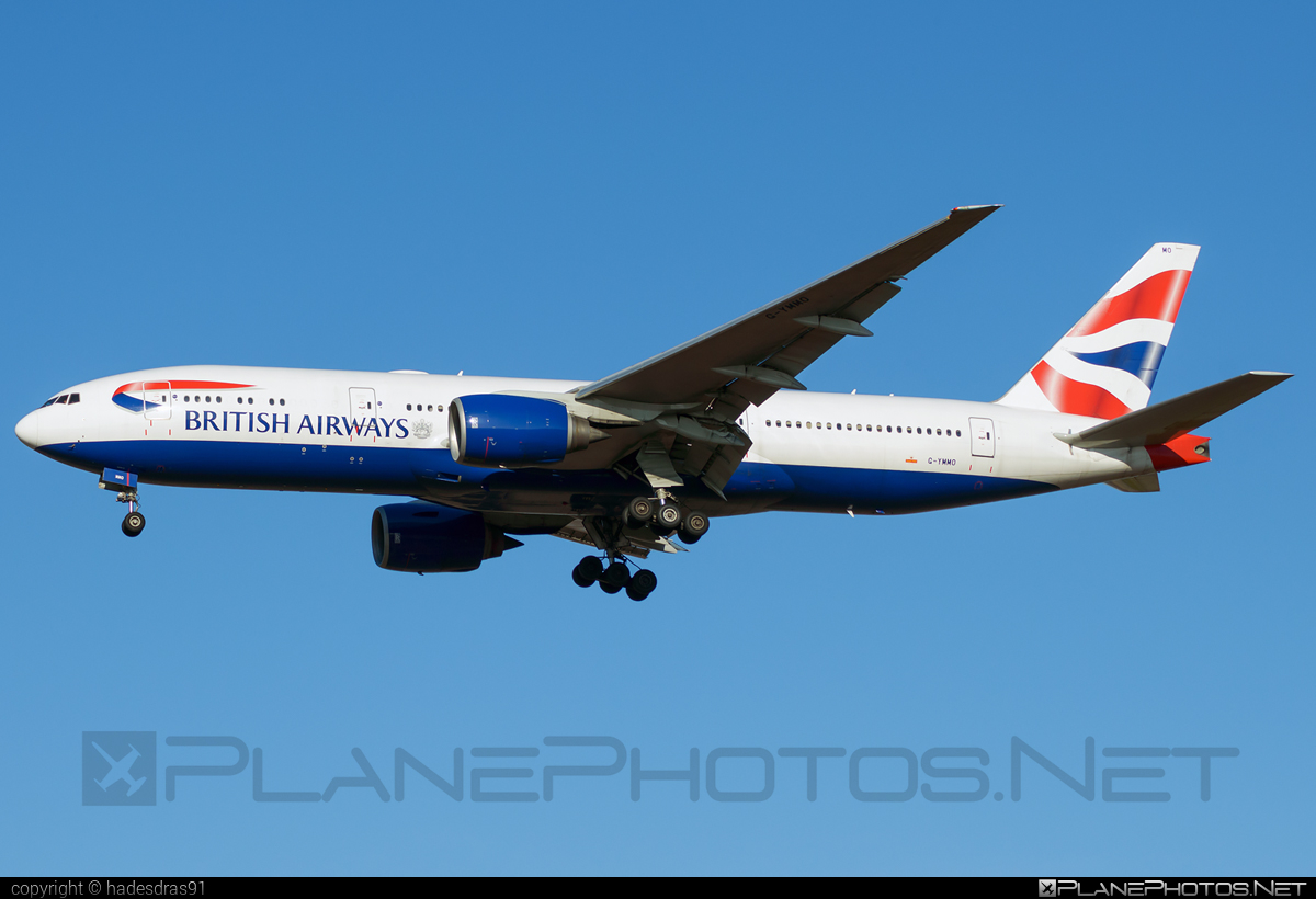 Boeing 777-200ER - G-YMMO operated by British Airways #b777 #b777er #boeing #boeing777 #britishairways #tripleseven