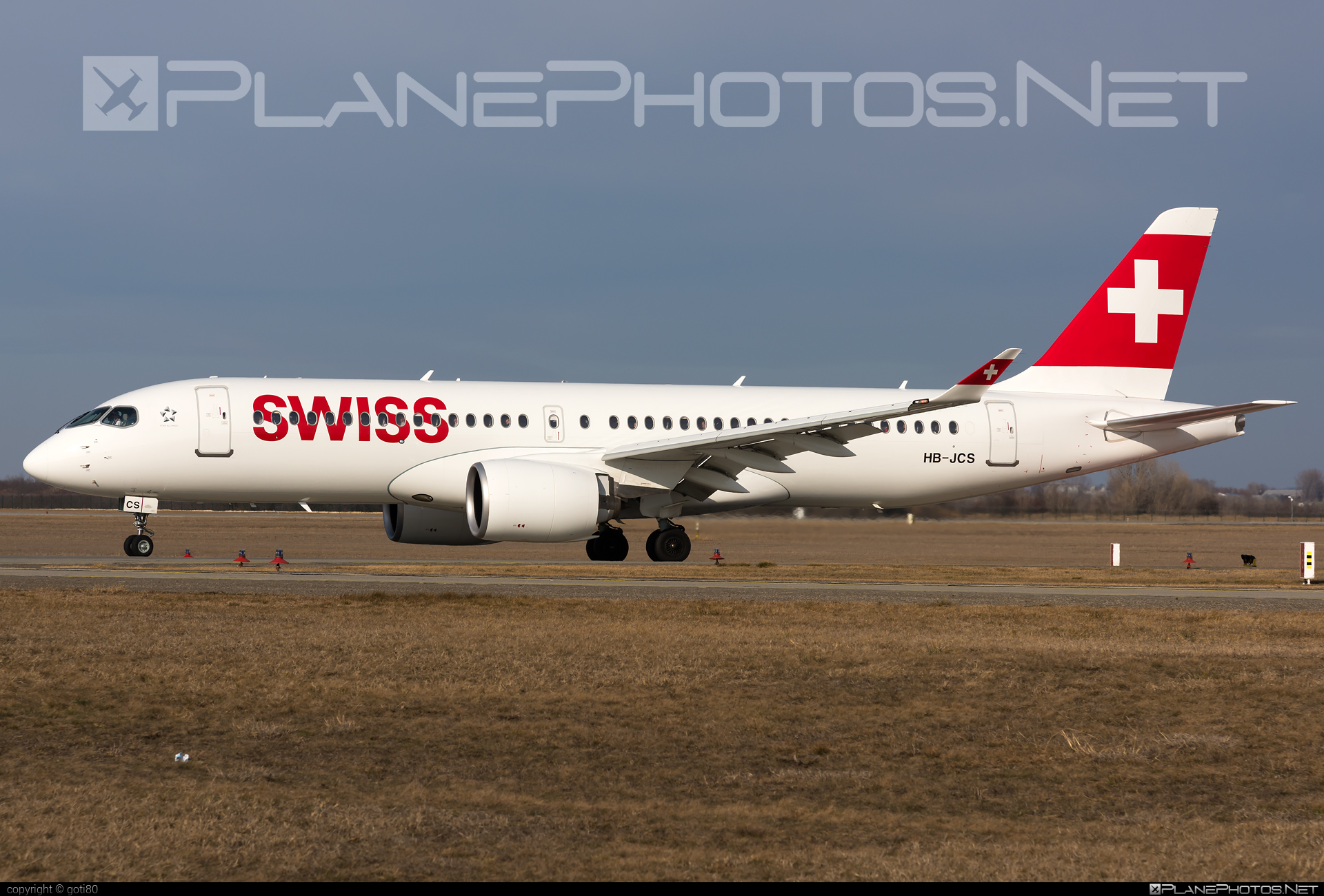 Airbus A220-300 - HB-JCS operated by Swiss International Air Lines #a220300 #a220family #airbus #cs300 #cseries #cseries300 #swiss #swissairlines