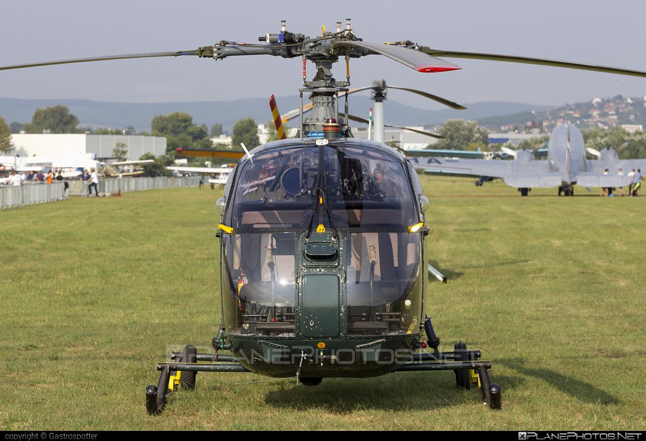 Aerospatiale SA-318C Alouette II - HA-PPG operated by Hidroplan Nord #aerospatiale #hidroplannord