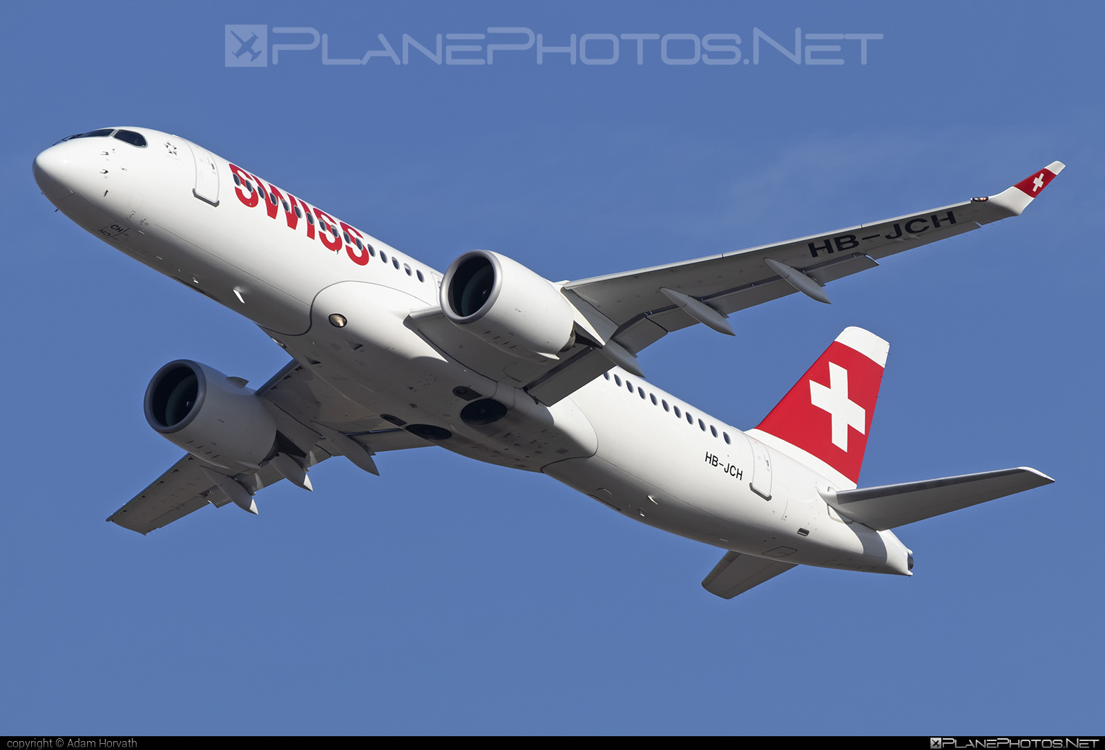 Bombardier BD-500-1A11 C Series CS300 - HB-JCH operated by Swiss International Air Lines #bombardier #cs300 #cseries #cseries300 #swiss #swissairlines