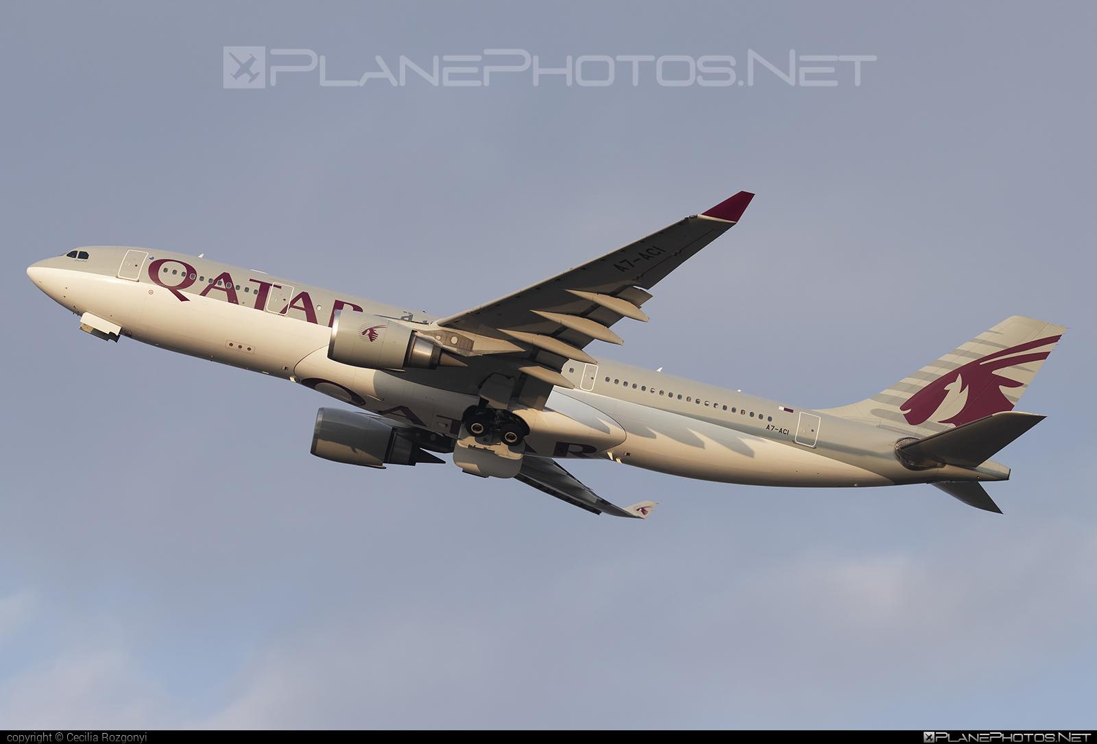 Airbus A330-202 - A7-ACI operated by Qatar Airways #a330 #a330family #airbus #airbus330 #qatarairways