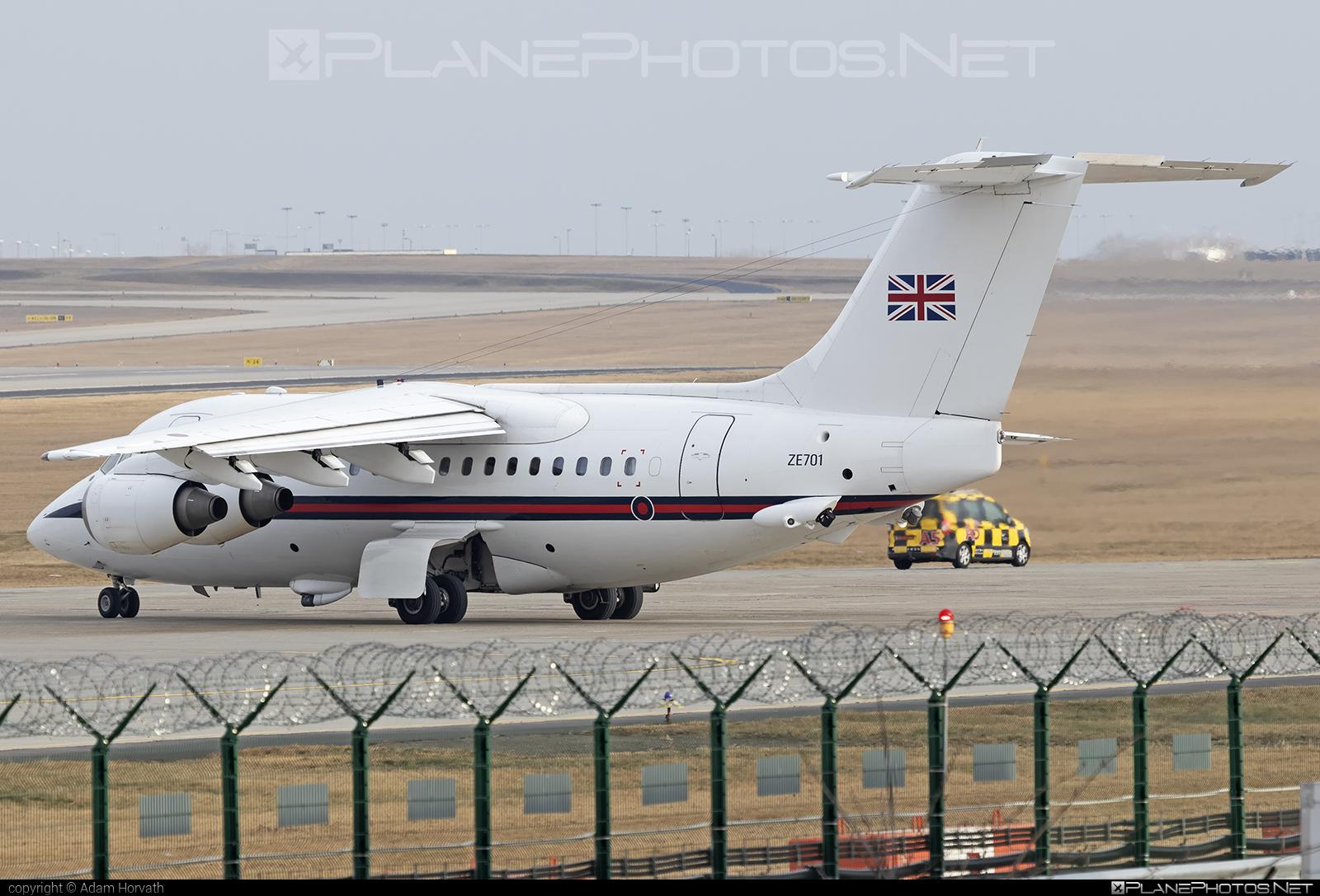 British Aerospace BAe 146 CC.2 - ZE701 operated by Royal Air Force (RAF) #bae146 #bae146cc2 #britishaerospace #raf #royalairforce