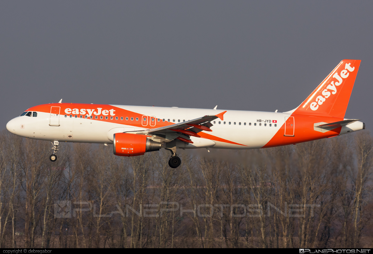 Airbus A320-214 - HB-JYD operated by easyJet Switzerland #a320 #a320family #airbus #airbus320 #easyjet #easyjetswitzerland