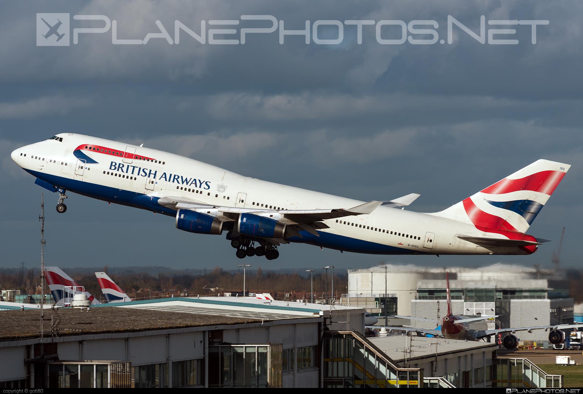 Boeing 747-400 - G-CIVU operated by British Airways #b747 #boeing #boeing747 #britishairways #jumbo