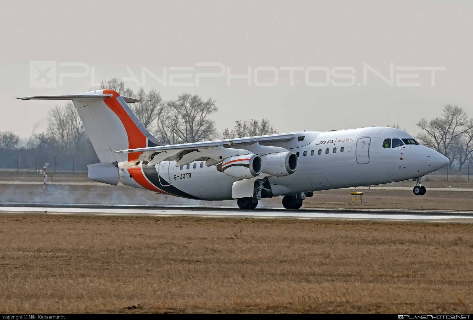 British Aerospace Avro RJ85 - G-JOTR operated by Jota Aviation #avro146rj85 #avrorj85 #bae146 #britishaerospace