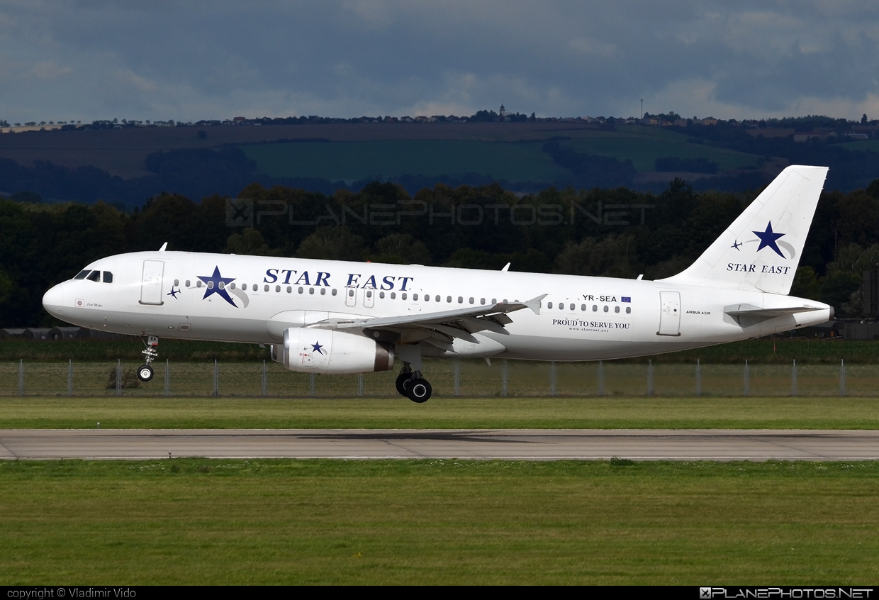 Airbus A320-231 - YR-SEA operated by Star East Airlines #a320 #a320family #airbus #airbus320